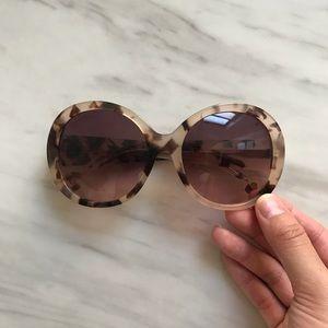 Anthropologie Oversized Round Sunglasses